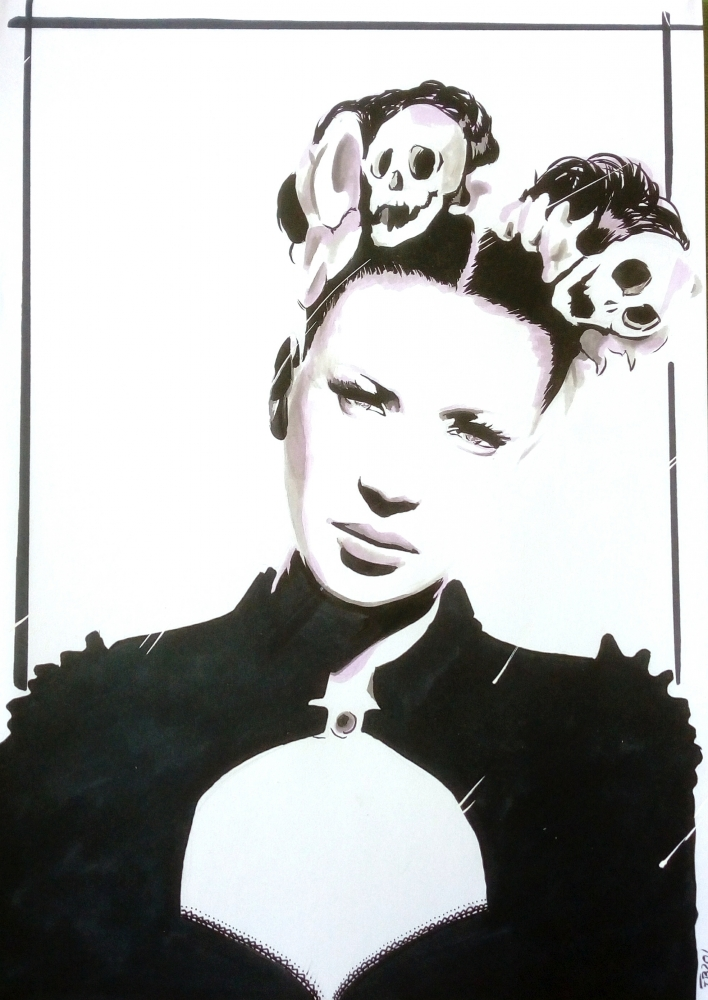 Shirley Manson par 13thmonkey